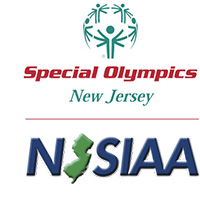 Special Olypics and NJSIAA logos