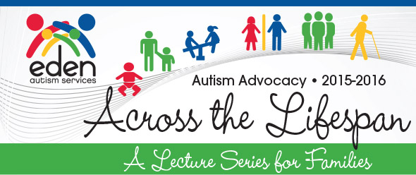 Autism Across the Lifespan Lecture Series banner