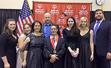 HFPF staff and family members supporting Special Olympics New Jersey fundraiser